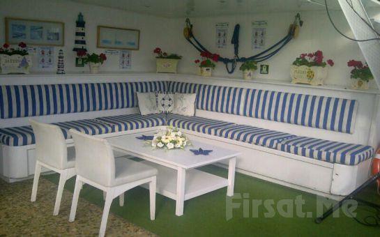 Büyük Taşkent Yatı ile Boğaz'da Lezzetli Akşam Yemeği Dahil Fasıl ve Muhteşem Eğlence!