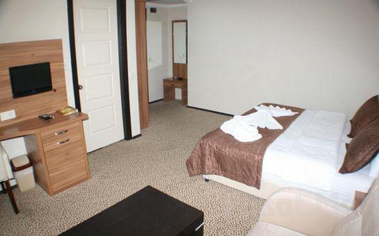 Küçükçekmece Air Boss Hotel'de 2 Kişi 1 Gece Konaklama ve Kahvaltı Keyfi