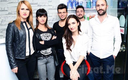 Mecidiyeköy Kadınca Kuaför'de, Saç Boyama + Yüzünüze Uygun Saç Kesimi + Saç Dizaynı + Dudak Üstü Alımı Fırsatı!