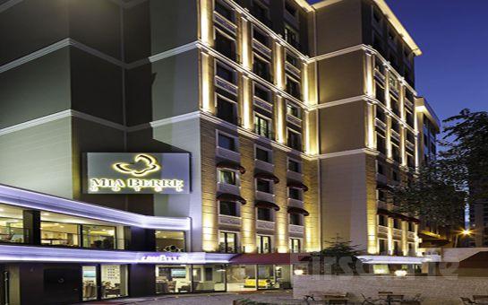 Beşiktaş Mia Berre Hotel'de 2 Kişi 1 Gece Konaklama Keyfi, Kahvaltı Seçeneğiyle!