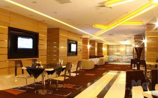 Ankara City Hotel'de Konsept Odalarda 2 kişi 1 Gece Kahvaltı Dahil Konaklama, Unique Spa Kullanım Fırsatı