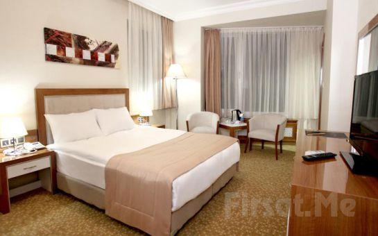 Ankara Pietra Hotel'de 2 Kişi 1 Gece Konaklama ve Kahvaltı Keyfi