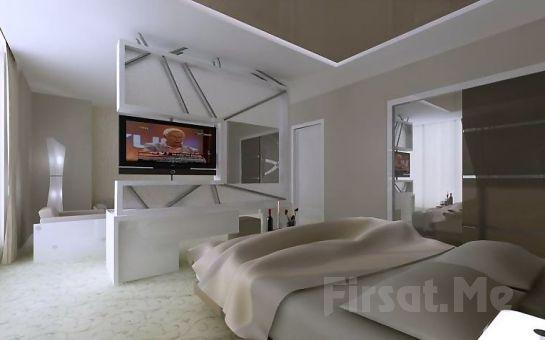 Eskişehir The Merlot Hotel'de 2 Kişi Konaklama, Kahvaltı ve Fitness Kullanım Fırsatı