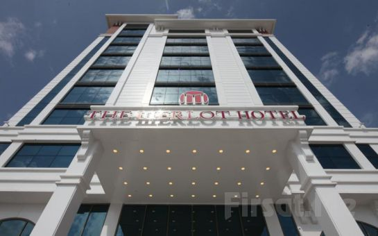 Eskişehir The Merlot Hotel'de 2 Kişi Konaklama, Kahvaltı ve Fitness Kullanım Fırsatı!