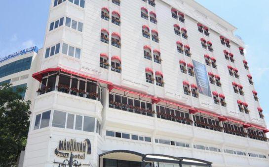 Ankara Manhattan Hotel'de Kişi Başı Konaklama ve Kahvaltı Keyfi