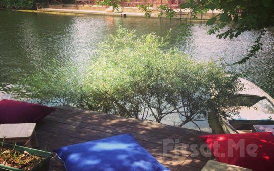 Nehir Kıyısında Ağva Nehir Perisi Otel'de Standart veya Jakuzili Odalarda 2 Kişi 1 Gece Konaklama ve Kahvaltı Fırsatı