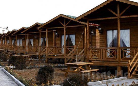 Gököz Natural Park'ta Doğa İçerisinde Bungalowlarda 2 Kişi 1 Gece Konaklama, Serpme Köy Kahvaltısı + ATV Safari Keyfi!
