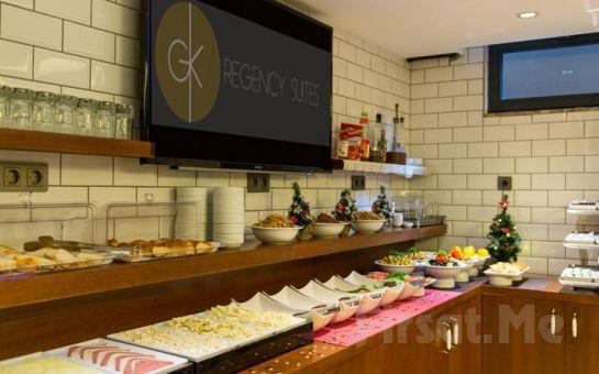 Şişli GK Regency Suites'de Konaklama ve Kahvaltı Keyfi!