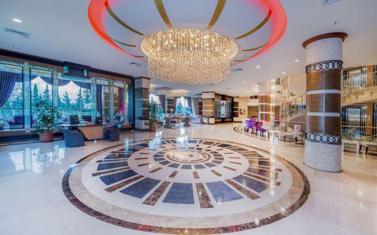 Kemer Grand Ring Hotel'de Gidiş Dönüş Uçak Bileti & Her Şey Dahil Erken Rezervasyon Tatil Paketleri!