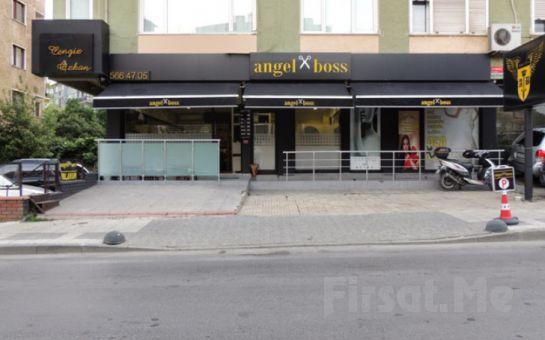 Angel Boss Kuaför Kadıköy'de Global Keratin Juvexin İle Yapılan Brezilya Fönü Uygulaması