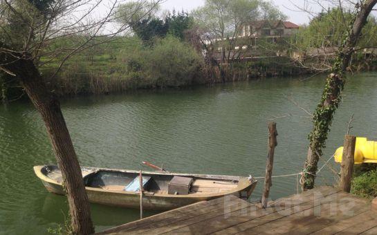 Doğa'nın Kalbinde Ağva Nehir Perisi Otel'de Sınırsız Çay Eşliğinde Serpme Köy Kahvaltısı