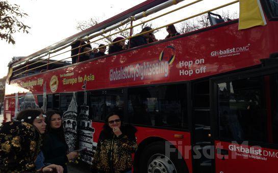 Globalist City Sightseeing'in Üstü Açık Çift Katlı Otobüsleriyle Her Cumartesi ve Pazar 90 Dakikalık İstanbul Şehir Turu!