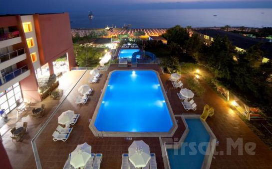 Side Bella Luna Hotel'de Gidiş Dönüş Uçak Bileti Dahil Her Şey Dahil Erken Rezervasyon Tatil Paketleri