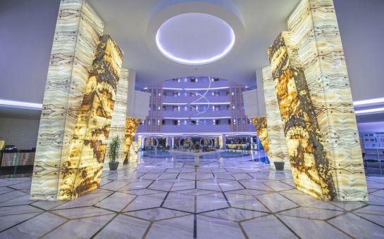Alanya Sirius Deluxe Hotel'de Gidiş Dönüş Uçak Bileti Dahil Ulta Her Şey Dahil Erken Rezervasyon Tatil Paketleri