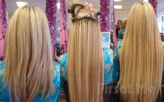Karşıyaka Form Güzellik Salonu'nda 100 Adet %100 Doğal Kaynak Saç Uygulaması