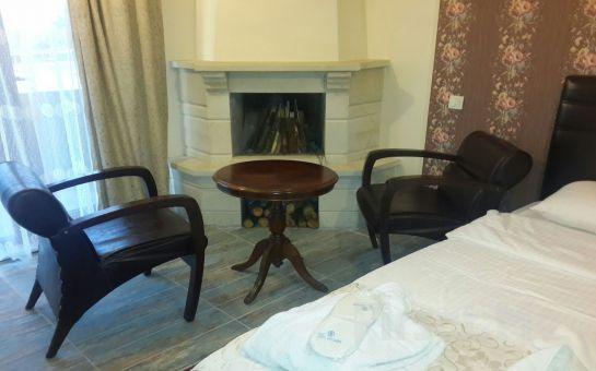 Ağva Teras Garden Hotel'de Jakuzili ve Şömineli Standart veya Bungalowlarda 2 Kişi 1 Gece Konaklama Ve Kahvaltı Keyfi!