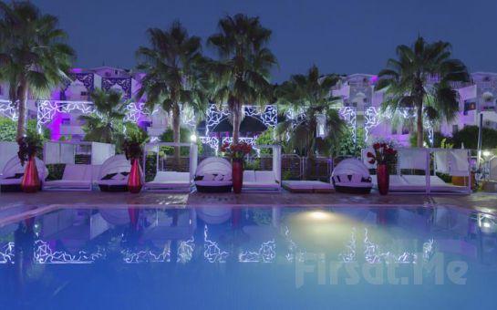 Alanya Club Hotel Anjeliq'de Herşey Dahil Erken Rezervasyon Konaklama Keyfi Jakuzili Romantic Süite Seçeneğiyle