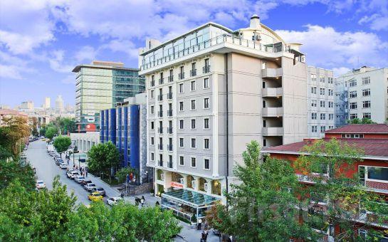 Midas Hotel Ankara'da Keyifli Saatler İçin İçki Dahil Aperatif Lezzetler!