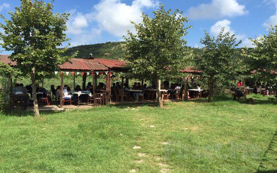 Beykoz Riva'da Doğayla İç İçe Mangal Keyfi (Köfte, Tavuk Pirzola, Sucuk, Közlenmiş Domates ve Biber, Salata, İçecek)