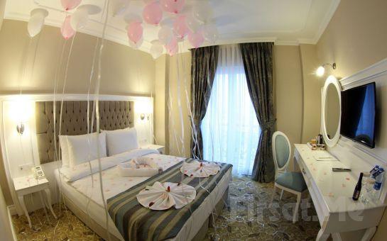 Luxor Garden Hotel İzmit'de 2 Kişi 1 Gece Konaklama Keyfi Ve Kahvaltı, Yarım Pansiyon Seçeneğiyle!