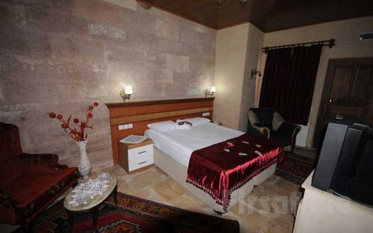 Arno Valley Hotel'de 2 Kişi 1 Gece Konaklama, Kahvaltı, İçki Dahil Akşam Yemeği Seçeneğiyle Kapadokya Tatil Fırsatı