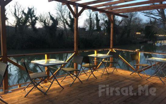 Nehir Manzaralı Ağva Vira Creek House Hotel'de Serpme Kahvaltı Keyfi