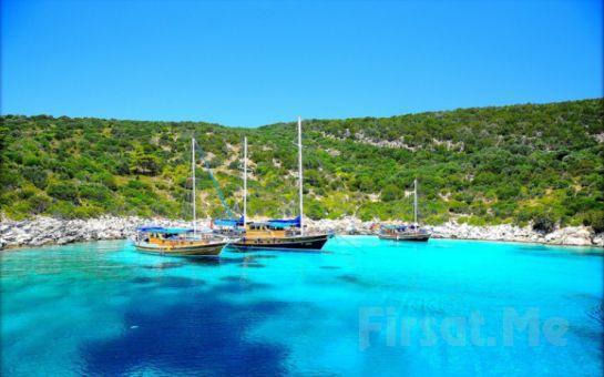 Gümbet İskeleden Hareketle Tam Gün Yemekli Bodrum Tekne Turu Fırsat Seçenekleri