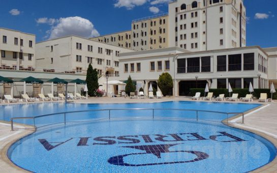 5 Yıldızlı Ürgüp Perissia Hotel'de Konaklama, Kahvaltı, Akşam Yemeği, Açık ve Kapalı Havuz Kullanımı, Kapadokya Balon Turu