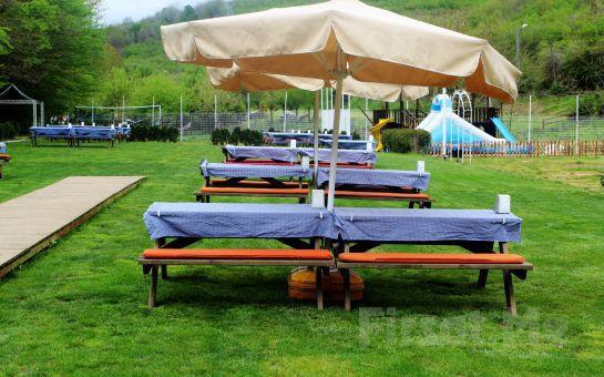 Polonezköy Ayşe Teyze Bağ Bahçe'de Doğayla İç İçe Lezzetli Yemek Menüleri Fırsatı!