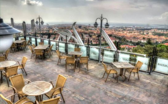 Çamlıca Lalezar Cafe'de Muhteşem İstanbul Manzarası Eşliğinde Leziz İftar Menüsü