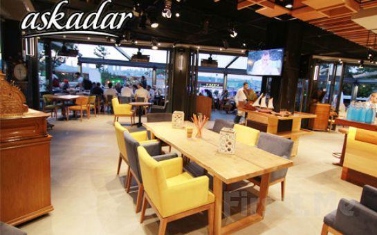 Boğaz Manzaralı Üsküdar Askadar Restaurant'ta 2 Kişilik Kütük Sahur Menüsü!