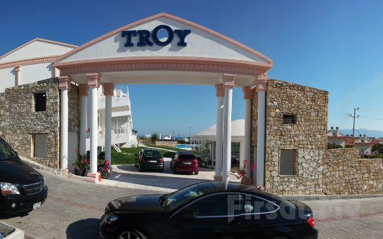 Çeşme Troy Boutique Hotel'de Herşey Dahil Konaklama Fırsatı