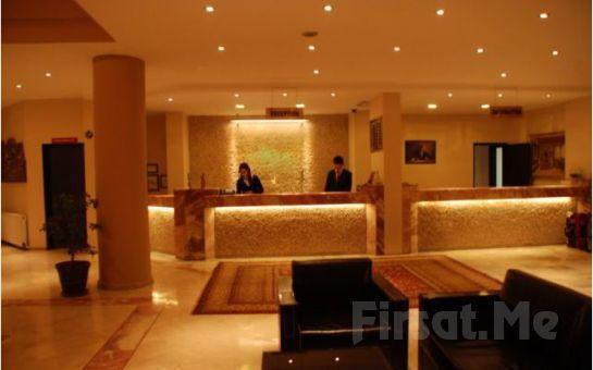 Kapadokya Avrasya Hotel'de Yarım Pansiyon Konaklama, Türk Gecesi ve Balon Turu Seçenekleri