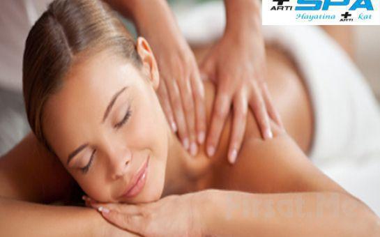 Kendinize Bir İyilik Yapın! Beylikdüzü Artı SPA'da Islak Alan Kullanımı, Kese Köpük ya da İsveç - AromaTerapi Masajı Fırsatı!