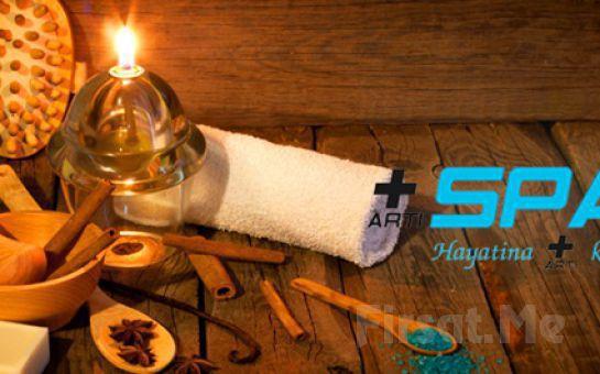 Kendinize Bir İyilik Yapın Beylikdüzü Artı SPA'da Islak Alan Kullanımı, Kese Köpük ya da İsveç - AromaTerapi Masajı Fırsatı