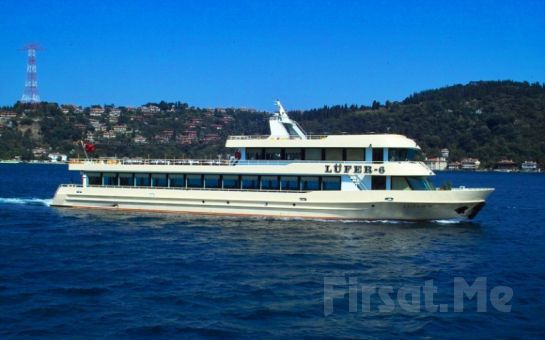 Lüfer Tekneleri ile Boğaz'ın Ortasında Boğaz Turu + Serpme Kahvaltı Keyfi!