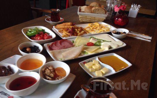 @usta Nef 11 Kağıthane'de Lezzetli Köy Kahvaltısı!