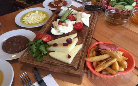 Beşiktaş Thkye Cafe'de Organik Hatay Yöresi Serpme Kahvaltı Keyfi!