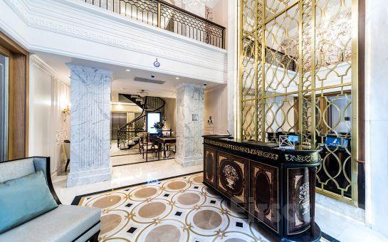 Nişantaşı Arcade Hotel'de 2 kişilik 1 gece Konaklama, Kahvaltı, Odada Minibar İkramları ve SPA keyfi