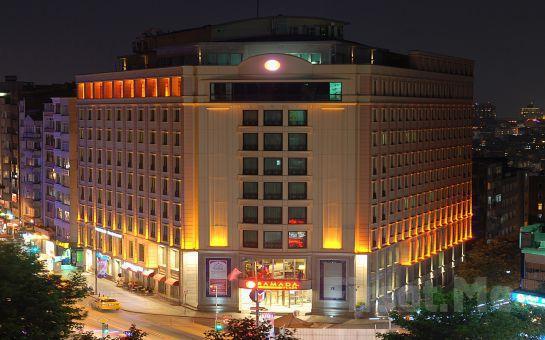 Ramada Plaza İstanbul Osmanbey'de 2 Kişi 1 Gece Şehir Merkezinde Konaklama + Spa Kullanımı + Havuz Keyfi, Kahvaltı Seçeneğiyle!