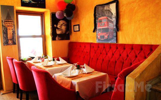 Sultanahmet Marbella Cafe Restaurant'ta Boğaz Manzarası Eşliğinde Zengin Nargile Çeşitleriyle Nargile Menü