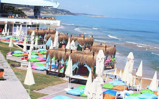 İstanbul'un En Güzel Plajı Kilyos High Beach Club'da (Solar Beach), Tüm Gün Plaj Keyfi! (Kahvaltı Seçeneğiyle)