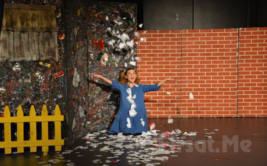 Birdirbir Çocuk Tiyatrosu'ndan Cevahir AVM Fun Lab Çocuk Sahnesi'nde MİKROP İLE KÖPÜK Tiyatro Oyunu!