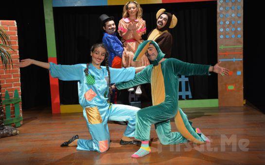 Birdirbir Çocuk Tiyatrosu'ndan Cevahir AVM Fun Lab Çocuk Sahnesi'nde ÇİZGİ DİYARINDA BİR GÜN Tiyatro Oyunu