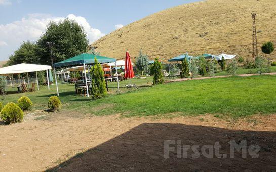 Yeşillikler Arasında Ankara Nazlı Kır Bahçesi'nde Organik Serpme Kahvaltı Keyfi