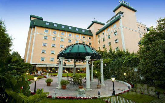 The Green Park Hotel Merter'de 5 Farklı Masaj Seçeneği, Kese Köpük, Yüz Maskesi, Hamam, Sauna, Buhar Odası Kullanım Fırsat Seçenekleri!