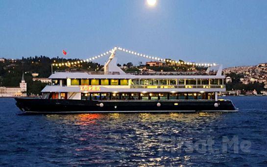 Lüfer-6 Cumhuriyet Gemisi İle DEV SAHNE KADROSU Eşliğinde Yemekli CUMHURİYET BALOSU veya DJ PARTY