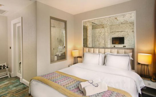 Berjer Boutique Hotel, Spa Taksim'de 2 Kişi 1 Gece Konaklama Keyfi, Kahvaltı Seçeneğiyle