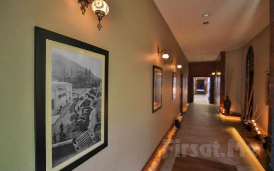 Grand Swiss Belhotel Çelik Palas Bursa'da Konaklama, Kahvaltı, Termal ve Spa Kullanımı
