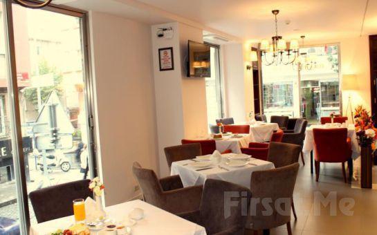 Şişli Hotel Le Maritime'de 2 Kişi 1 Gece Konaklama ve Kahvaltı Keyfi